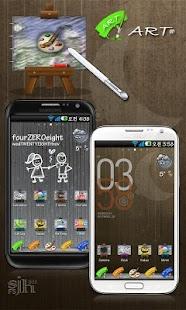 Art Go Launcher EX theme