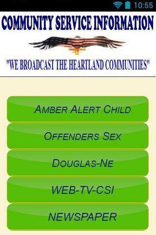 Community Service Information