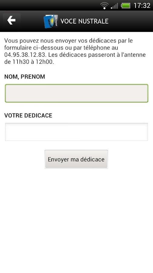 Voce Nustrale- screenshot
