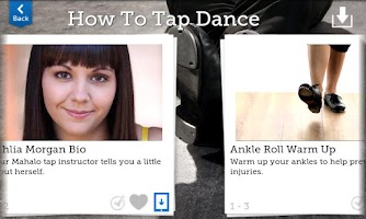 Screenshot of How To Tap Dance