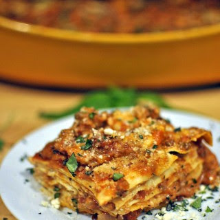 5-Layer Spicy Oven Ready Lasagna