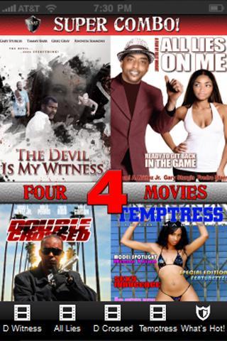 4 Movie Super Combo Volume 1