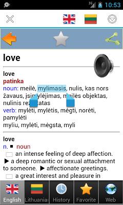 Lithuanian - screenshot