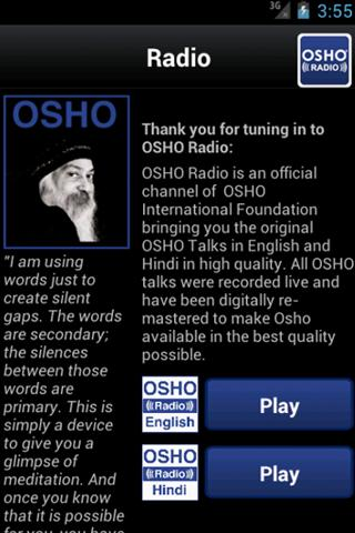 OSHO Radio- screenshot