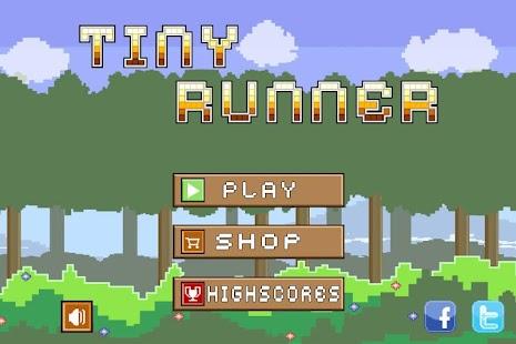 Tiny Runner -- endless running game - náhled