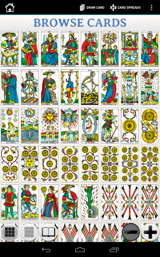 Marseille Tarot Cards 2010: Android Apps On Google Play