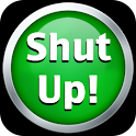 Shut Up! logo