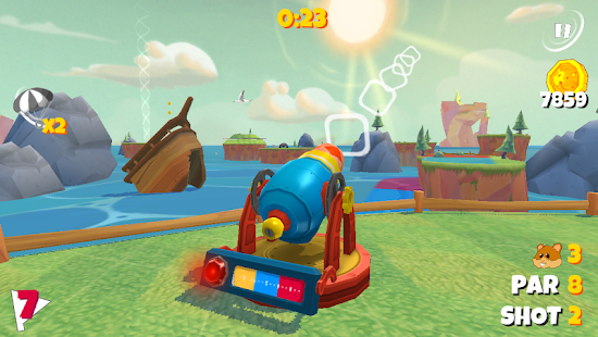 Boom Boom Hamster Golf Screenshot 11