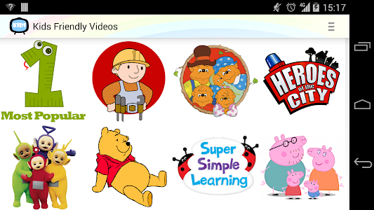 Kids Friendly Videos screenshot 8