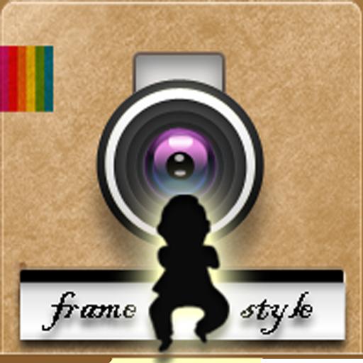 InstaFrame Style LOGO-APP點子
