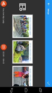 AndroVid Video Editor - screenshot thumbnail