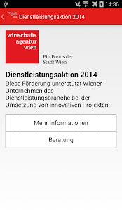 Förderguide Wirtschaftsagentur- screenshot thumbnail