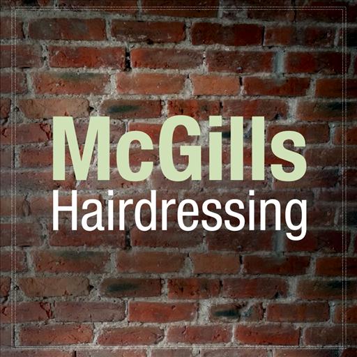 McGills Hairdressing LOGO-APP點子