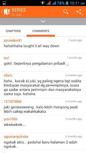 NGOMIK - Baca Komik Indonesia 1.2.5 screenshots 5