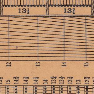 Icona Stamp Perforation Gauge
