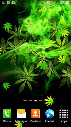 大麻動態壁紙