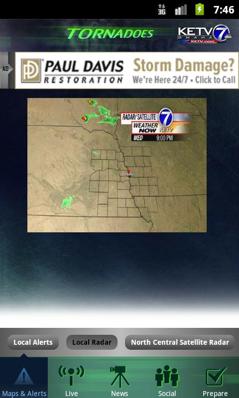 Tornadoes KETV NewsWatch 7 - screenshot