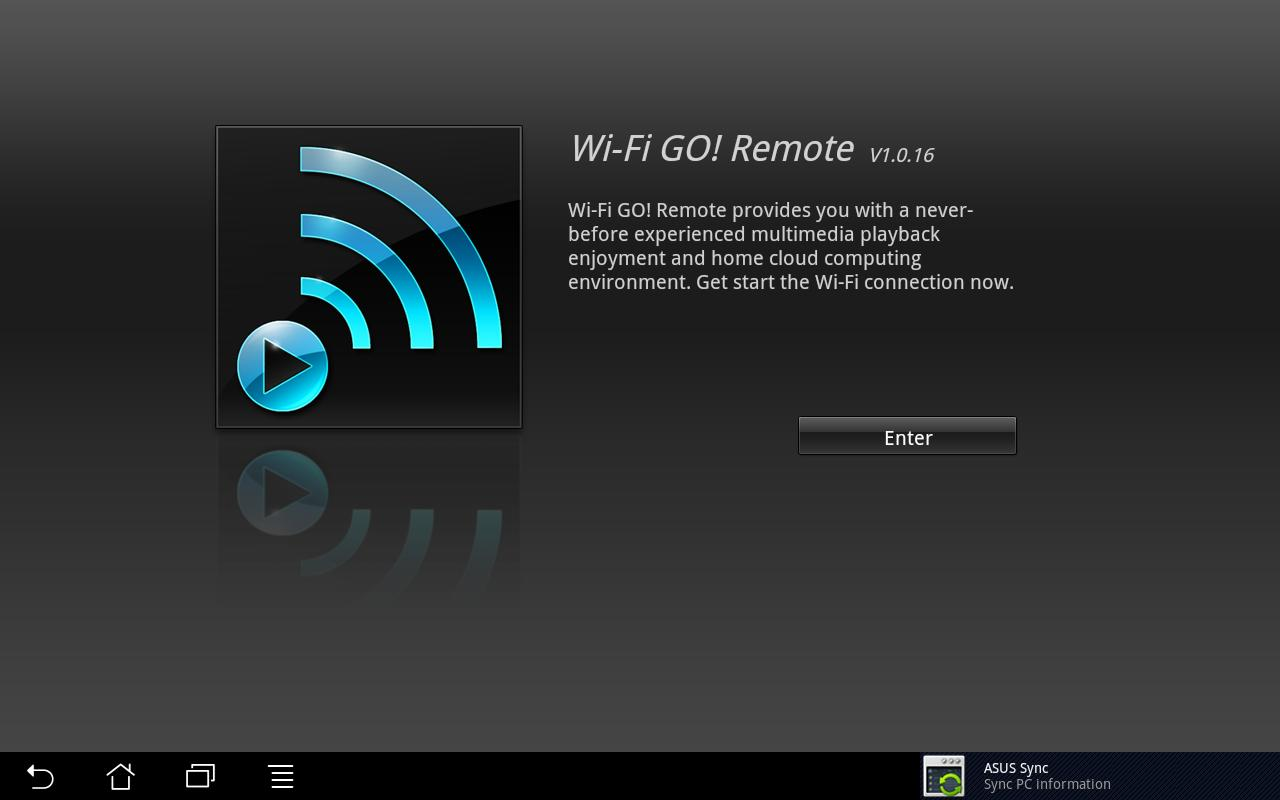 Wi-Fi GO! Remote - screenshot