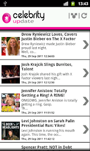 Celebrity Update ™ - screenshot thumbnail