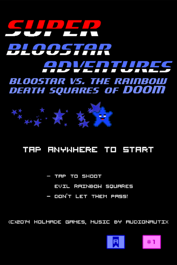 Bloostar Adventures- screenshot