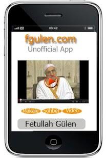 Fethullah Gulen Unofficial App - screenshot thumbnail