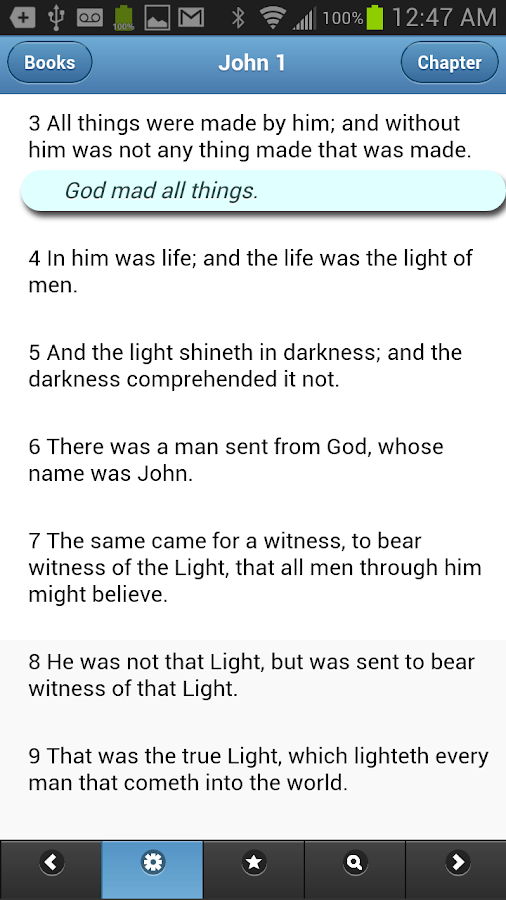 VerseVIEW Mobile Bible - screenshot