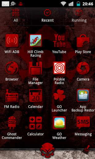 Download WoW Horde Go Launcher Theme Google Play softwares