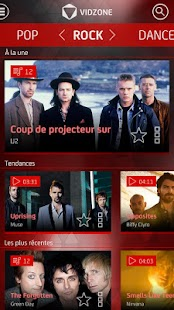VIDZONE - CLIP VIDEO GRATUIT Capture d'écran