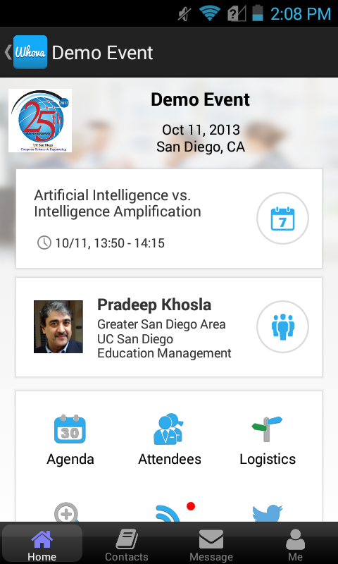 Whova Group and Event - screenshot