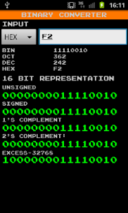 Binary Converter - screenshot thumbnail