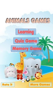 Animals Learning Game for Kids- screenshot thumbnail