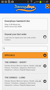 Dannyboys Online Ordering- screenshot thumbnail