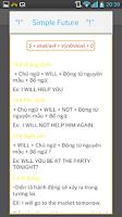Screenshot of hoc tieng anh co ban cac thi