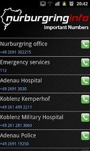 Nurburgring Info- screenshot thumbnail