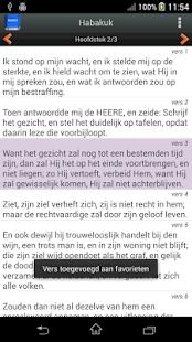 Statenvertaling Bijbel- screenshot thumbnail