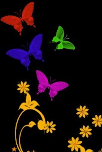 Butterfly Live Wallpaper - screenshot thumbnail