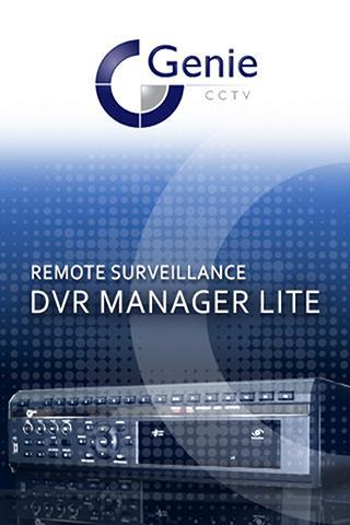 Genie DVR Manager Lite
