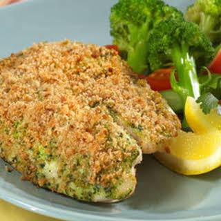 Gremolata-crusted Tilapia.