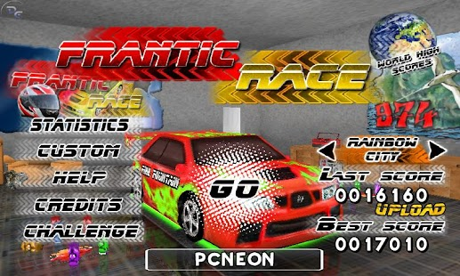 Frantic Race Free- screenshot thumbnail