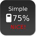 Nice Simple Battery (Widget) logo