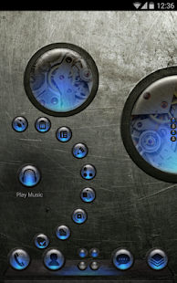 Next Launcher Theme SteampunkN - screenshot