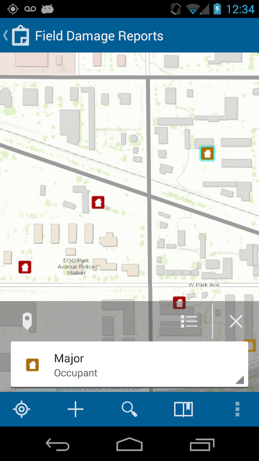 Collector for ArcGIS - screenshot