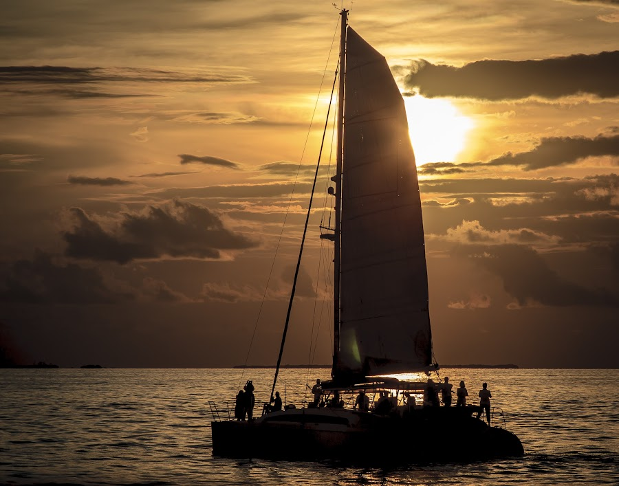 west of Key West by Dominick Bianco - Transportation Boats (  )