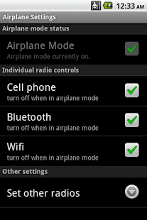 Airplane Mode Modifier - screenshot thumbnail