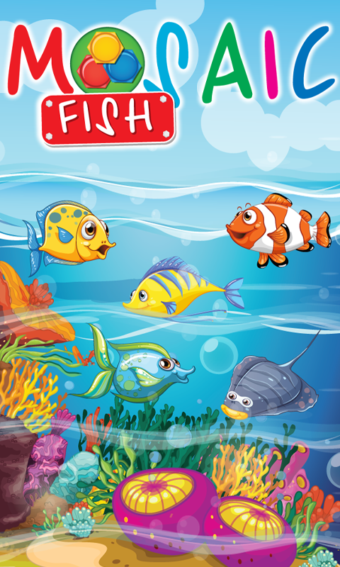 Puzzles floppy fish- screenshot