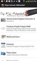 Screenshot of Kejuruteraan Mekanikal