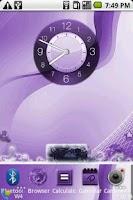 Screenshot of PurpleIce-Open Home skin