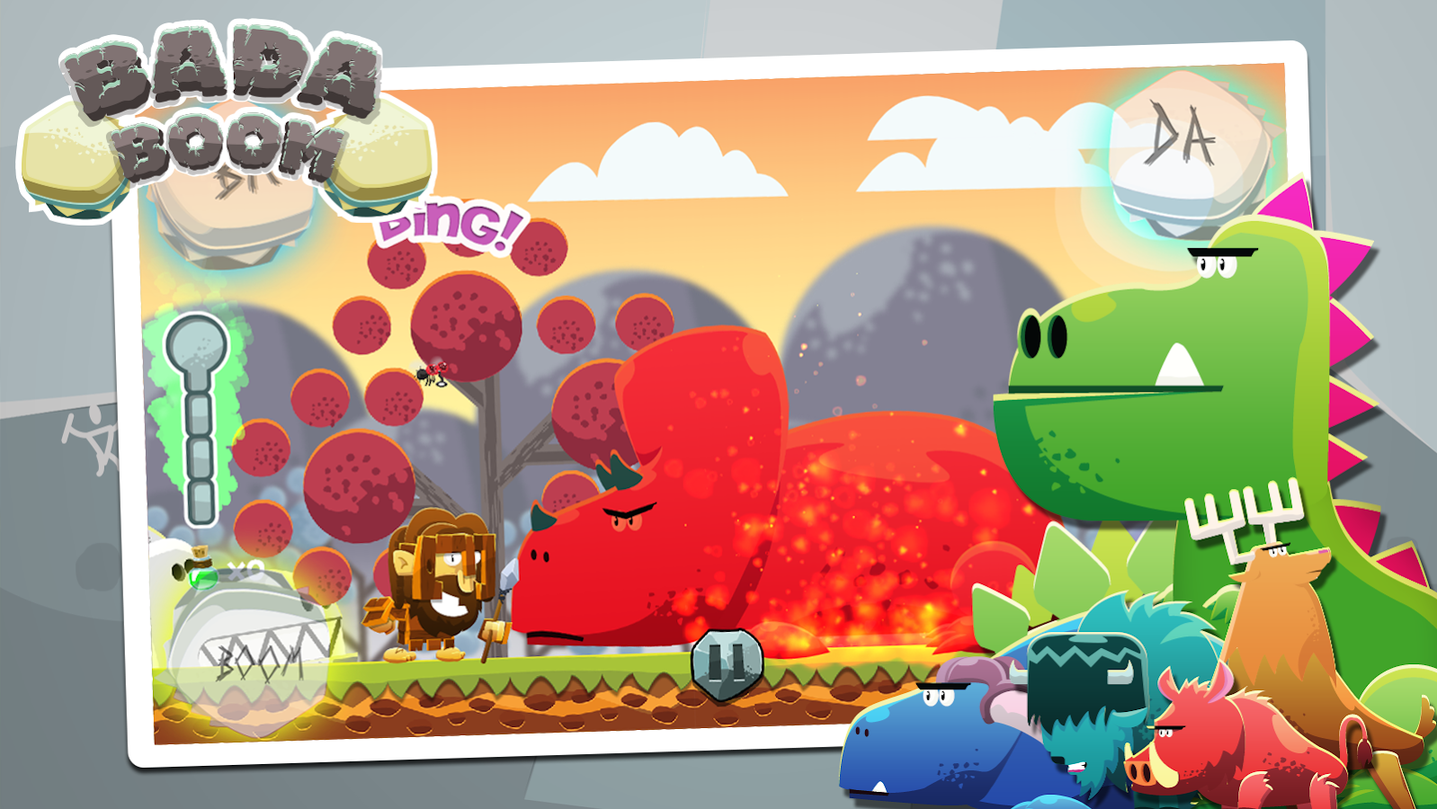 Badaboom - Rhythm Dinos Game- screenshot