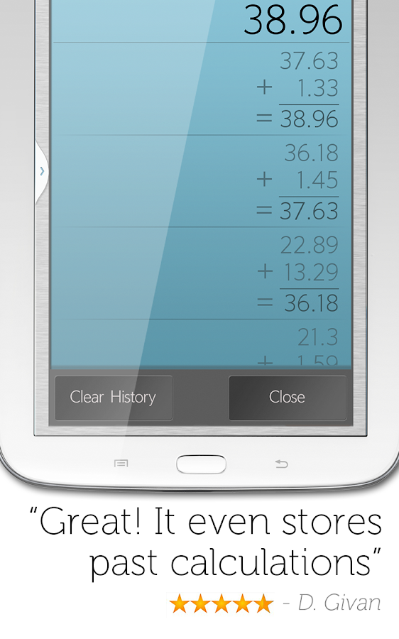 Calculator Plus Free - screenshot