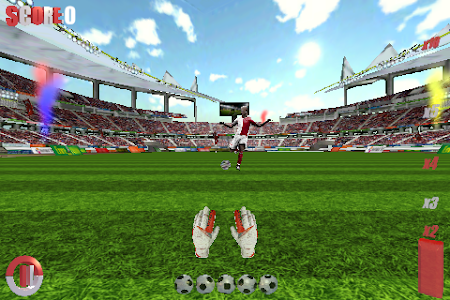 Goalkeeper Soccer World 1.1 screenshot 1375539